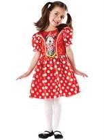 Красный классический детский костюм Минни Маус (Minnie Mouse Classic Red Costume) купить оригинал