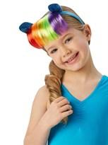 Ободок Радуга Дэш с прядями волос (My little pony Rainbow Dash hairband with hairpiece) купить оригинал