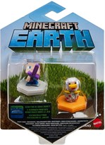Набор из 2 фигурок Майнкрафт Стив и Утка (Minecraft Earth Boost Minis Steve and Duck) купить в Москве