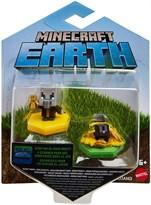 Набор из 2 фигурок Майнкрафт Вызыватель и Кролик (Minecraft Earth Boost Minis Undying Evoker & Snacking Rabbit) купить в Москве