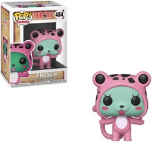 Фигурка Фрош Хвост Феи (Funko POP Fairy Tail Frosch Figure) №484 купить