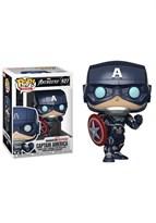 Фигурка Капитан Америка Мстители (Pop Avengers Game Captain America Stark Tech Suit) №627 купить