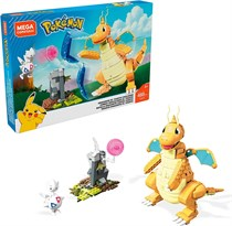 Конструктор Покемон Драгонайт (Mega Construx Pokemon Play Set) купить оригинал