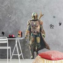 Интерьерная наклейка Мандалорец (The Mandalorian Peel and Stick Giant Wall Decals) купить в Москве