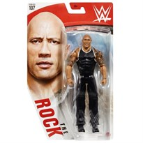 Подвижная фигурка Скала (WWE Basic Figure Series 107 The Rock Figure) купить оригинал