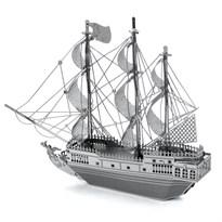 Металлический 3D конструктор корабль Черная жемчужина (Black Pearl Metal Earth) купить оригинал