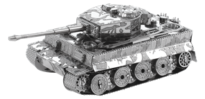 Металлический 3D конструктор танк Тигр (Tiger I Tank Metal Earth) купить оригинал