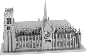 Металлический 3D конструктор Собор Парижской Богоматери (Notre Dame de Paris Metal Earth) купить в Москве