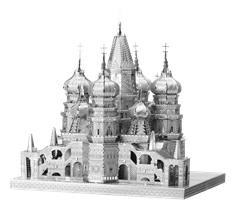 Металлический 3D конструктор Собор Покрова Пресвятой Богородицы (St Basil Cathedral Metal Earth) купить оригинал