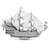 Металлический 3D конструктор корабль Месть Королевы Анны (Queen Anne Revenge Metal Earth) купить в Москве