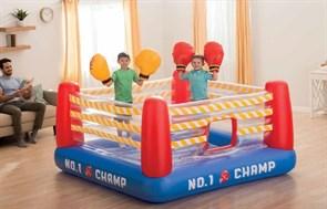 Детский батут INTEX в виде ринга