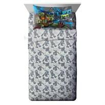 Постельное белье Черепашки ниндзя (Teenage Mutant Ninja Turtles Cross Hatching Sheet Set) купить в России