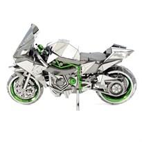 Металлический 3D конструктор Кавасаки Ниндзя (Kawasaki Ninja H2R Metal Earth) купить в Москве