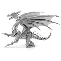 Металлический 3D конструктор Серебристый Дракон (Premium Series Silver Dragon Metal Earth) купить недорого