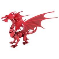 Металлический 3D конструктор красный Дракон (Red Dragon Metal Earth) купить в Москве