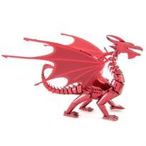 Металлический 3D конструктор красный Дракон (Red Dragon Metal Earth) заказать
