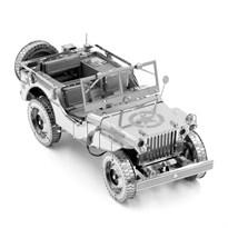 Металлический 3D конструктор Военный автомобиль (Willys Overland Metal Earth) заказать
