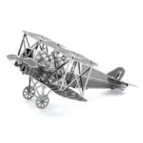 Металлический 3D конструктор самолет Фоккер (Fokker D-VII Metal Earth) купить оригинал