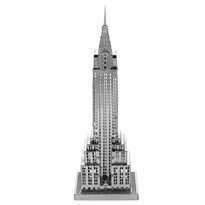 Металлический 3D конструктор здание Эмпайр-стейт-билдинг (Empire State Building Metal Earth) купить в Москве
