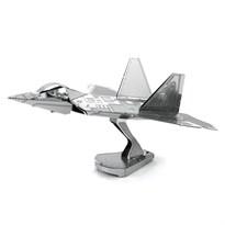 Металлический 3D конструктор самолет Раптор (F22 Raptor Metal Earth) купить в Москве