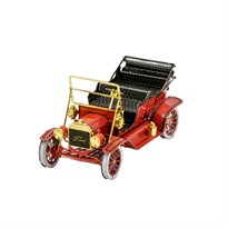 Металлический 3D конструктор Форд 1908 (Ford Model T Red/Gold Metal Earth) купить оригинал