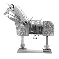 Металлический 3D конструктор Бард (Horse Armor Metal Earth) купить в Москве