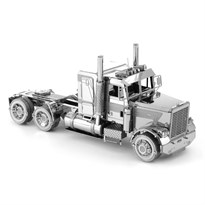 Металлический 3D конструктор Грузовая машина (Freightliner FLC Long Nose Truck Metal Earth) купить в Москве