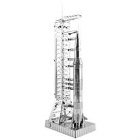 Металлический 3D конструктор ракета Сатурн 5 (Apollo Saturn V with Gantry Metal Earth)