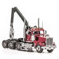 Металлический 3D конструктор Грузовик (Western Star 4900 Log Truck Metal Earth) купить в Москве