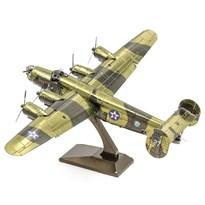 Металлический 3D конструктор бомбардировщик Либерейтор (B-24 Liberator Metal Earth) купить оригинал