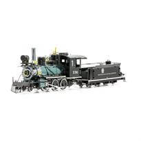 Металлический 3D конструктор Паровоз (Wild West 2-6-0 Locomotive Metal Earth) купить в Москве