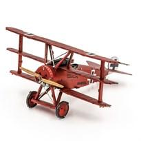 Металлический 3D конструктор Триплан (Fokker Dr. I Triplane Metal Earth) купить с доставкой