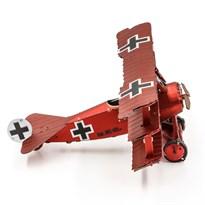 Металлический 3D конструктор Триплан (Fokker Dr. I Triplane Metal Earth) купить в Москве