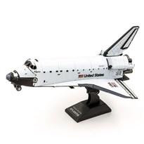 Металлический 3D конструктор Шаттл Атлантис (Space Shuttle Atlantis Metal Earth) купить в Москве