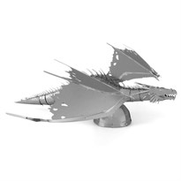 Металлический 3D конструктор Дракон из Гринготтс (Gringotts Dragon Metal Earth) купить в Москве