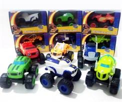 Комплект из 6 машинок Вспыш и чудо машинки (Blaze and the Monster Machines) купить