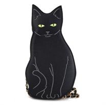 Мини сумка черная кошка купить в России