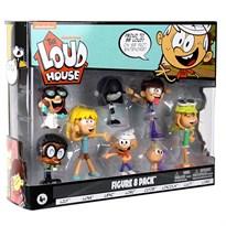 Набор из 8 фигурок Мой Шумный дом (The Loud House Figure) купить в России