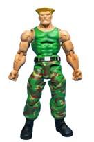 Подвижная Фигурка Стрит Файтер Gulie (Street Fighter IV series 2 Guile Action Figure) 17 см купить в России с доставкой