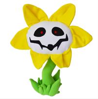Мягкая игрушка цветок из игры Андертэйл (Undertale) купить