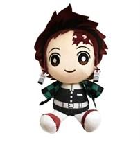 Плюшевая кукла Танджиро Камадо (Demon Slayer: Kimetsu no Yaiba) 20 см купить в России с доставкой