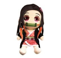 Плюшевая кукла Незуко Камадо (Demon Slayer: Kimetsu no Yaiba) 20 см купить в России с доставкой