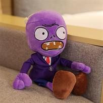 Мягкая игрушка фиолетовый Зомби 30 см (Plants vs Zombies) купить