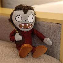 Мягкая игрушка Зомби в коричневом костюме с гитарой 30 см (Plants vs Zombies) купить