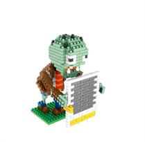 Конструктор Зомби со стеной (Plants vs. Zombies)