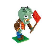 Конструктор Зомби с флагом (Plants vs. Zombies) купить по низкой цене