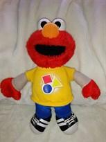 Плюшевая игрушка Элмо (Elmo) из мультфильма Улица Сезам купить