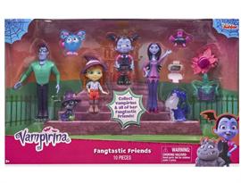 Набор из 10 фигурок Фантастические друзья Удивительной Ви (Vampirina Fangtastic Friends) купить в Москве