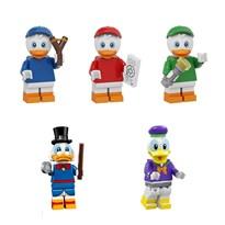 Набор из 5 фигурок совместимых с Лего Утиные Истории (Duck Tales) купить