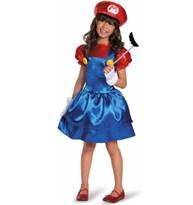 Костюм для девочки Супер Марио (Super Mario) купить в России